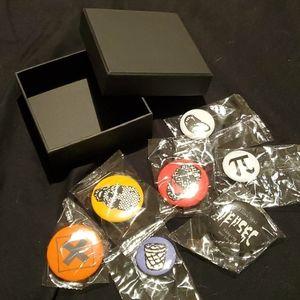 Watch Dog 2 Badge Pin Set